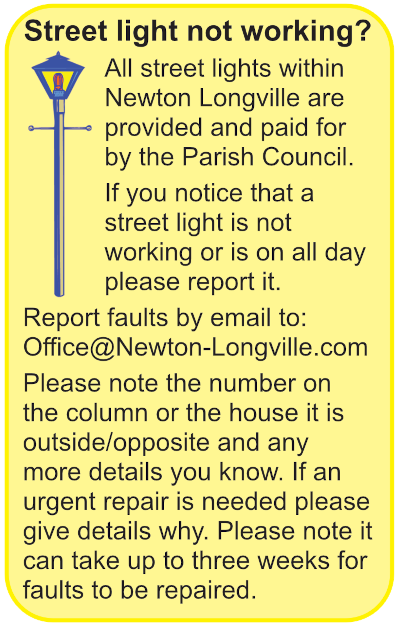 Report a streetlight fault